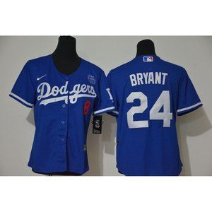 Youth LA Dodgers Kobe Bryant Blue Jersey
